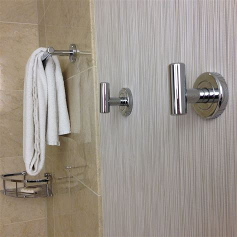 towel hooks for bathrooms this hotel bathroom feature has me hooked travelupdate
