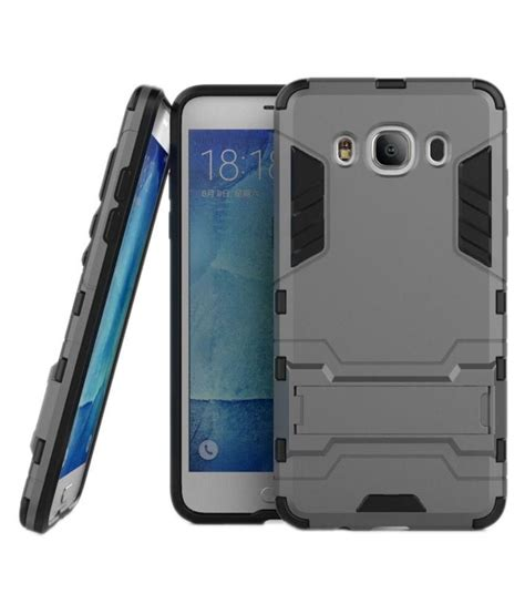 Ruged Armor Bumper Kick Stand Hardcase For Samsung Galaxy J5 J5 2015 jma kick stand dual rugged armor hybrid bumper back cover for samsung galaxy j5