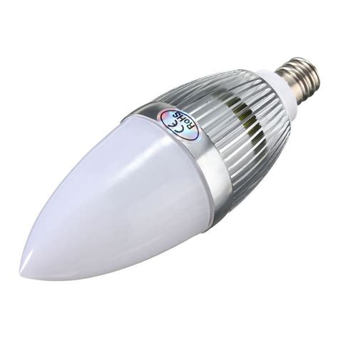 Led E12 Light Bulb E12 3w Led Candle L Candelabra Candlestick Rgb Spot Light Bulb Remote Lw Ebay