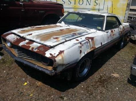Craigslist Find: Rusty ?69 Camaro With An Optimistic