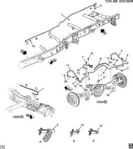 Brake Line Diagram For 2000 Suburban 2004 Chevy Silverado Parts Diagram Autos Post