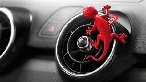 Lizard Air Freshener audi debuts gecko air freshener as official accessory