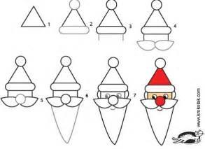 krokotak how to draw santa