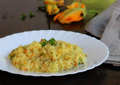 ricetta risotto fiori di zucca risotto fiori di zucca zafferano ricetta tradizionale