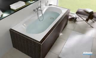baignoire ovale villeroy et boch oberon espace aubade