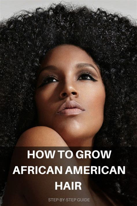 how to grow afro hair on the top while shaving the sides 10 steps to growing african american hair bellatory