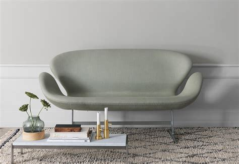 Swan Sofa Reproduction by Swan Sofa Arne Jacobsen Reproduction