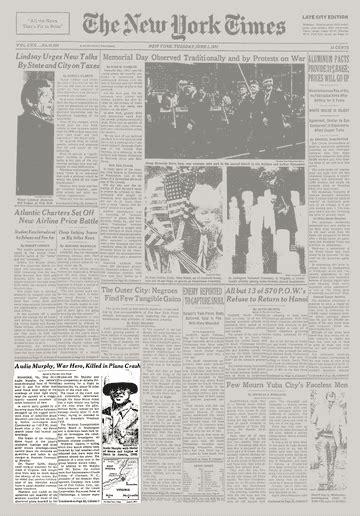 Audie Murphy Crash Site by Audie Murphy War Hero Killed In Plane Crash The New