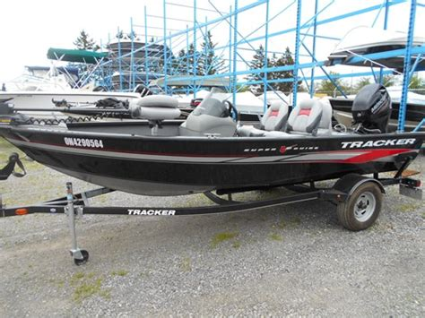 bass boat tracker super guide v16 sc boats for sale used boats yachts for sale boatdealers ca