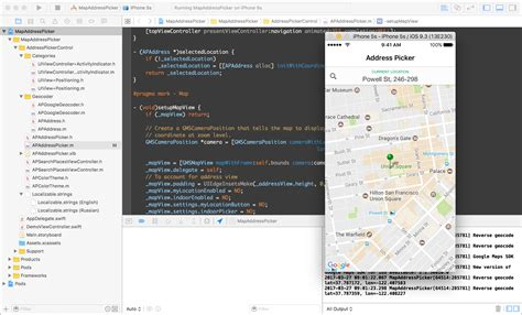 xcode picker tutorial 100 google maps ios sdk tutorial send a custom