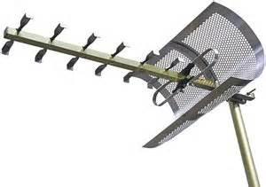 zenith hdtv dtv uhf analog outdoor antenna electronics