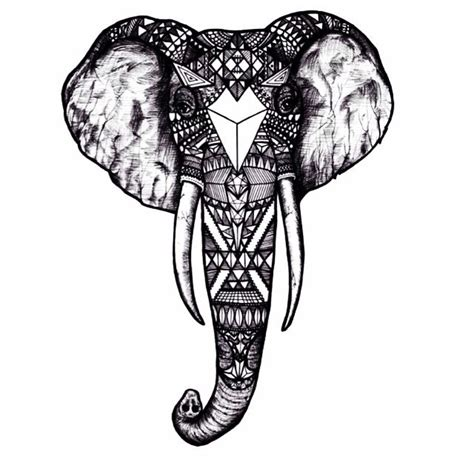 detailed elephant tattoo my first tattoo design detailed elephant sketch for just