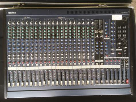 Mixer Yamaha Mg 24 yamaha mg24 14fx image 1860595 audiofanzine