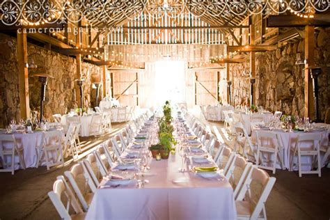 best wedding reception venues in california barn wedding venues in california