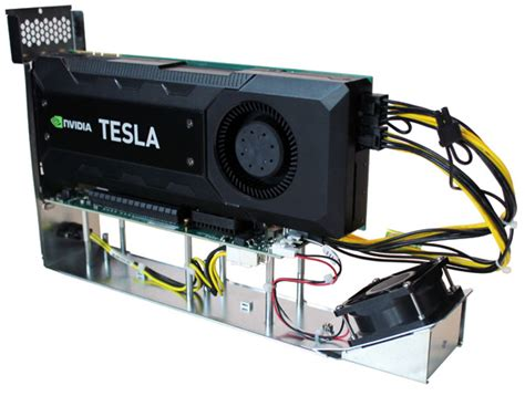 Tesla K40 Review Review One Stop Systems Pcie Expansion Appliance The