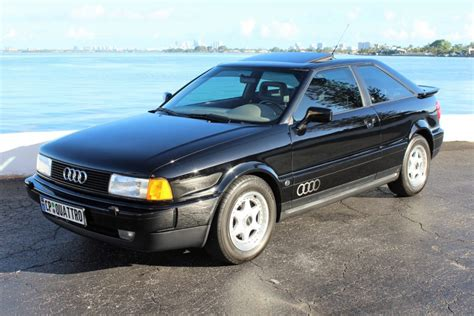 audi coupe 1990 31k mile 1990 audi coupe quattro 5 speed for sale on bat