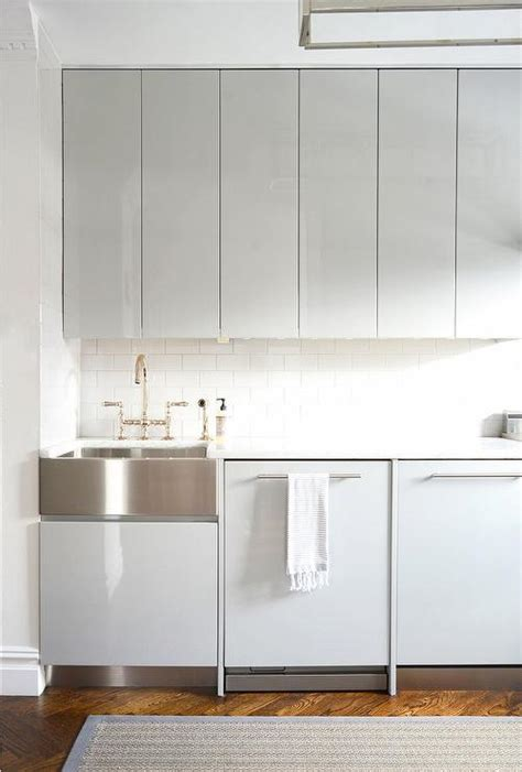 white lacquer kitchen cabinets gray lacquered kitchen cabinets modern kitchen