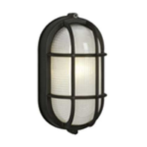 Low Voltage Wall Sconce Marine Oval Bulkhead Outdoor Wall Light 305014bk