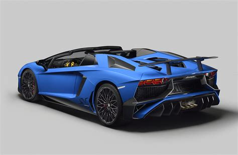 convertible lambo the lamborghini aventador superveloce roadster is blazing
