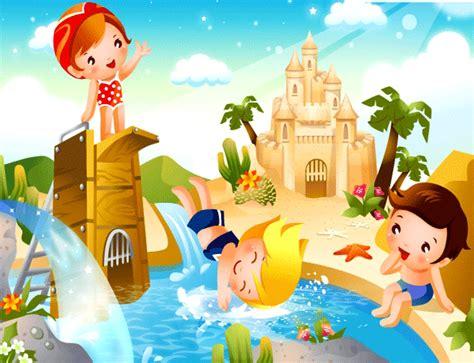 imagenes animadas verano ni 241 os en verano para imprimir imagenes animadas