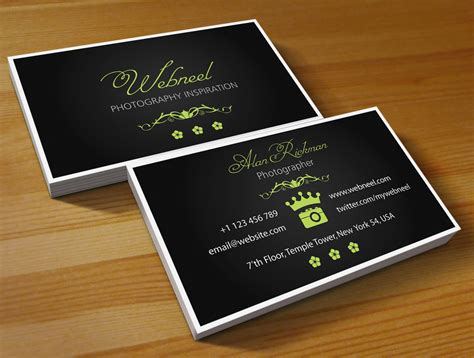 free photography business card templates free photography business card templates business card