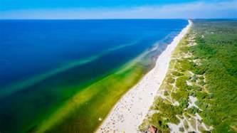 Black Sand Beaches nida beach curonian spit lithuania dronestagram