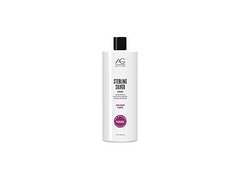 ag hair cosmetics sterling silver toning shoo 33 8 oz ag hair care sterling silver toning shoo 33 8 ounce