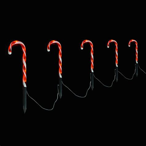 christmas light up candy canes christmas decorating