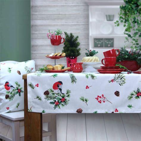tischdecken von sander weihnachtstishdeke von sander www sander tischwaesche de