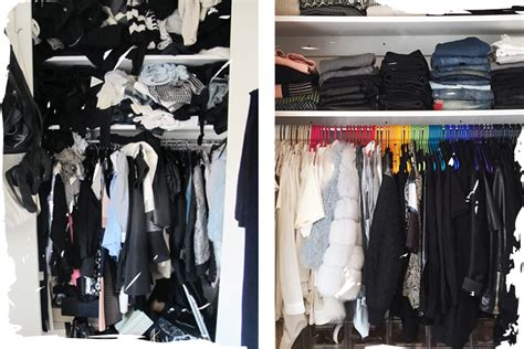 Stuffed Closet by From Stuffed To Spacious May S Closet Transformation