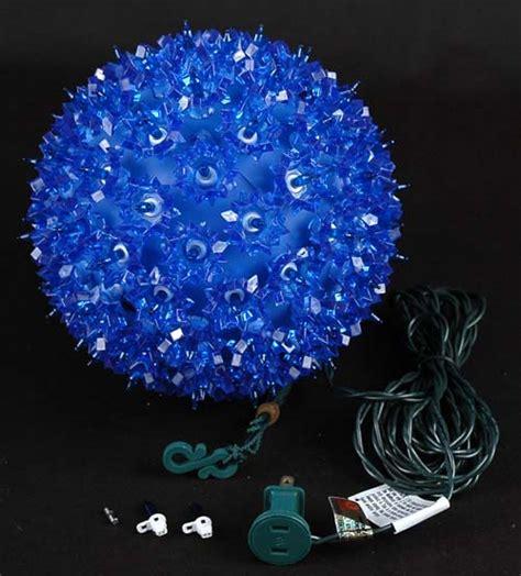 7 5 quot starlight sphere 100 light blue christmas lighted ball