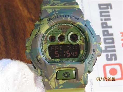 G Shock Dw 6900 Green Transparan live photos g shock woodland green gd x6900mc 3 camouflage