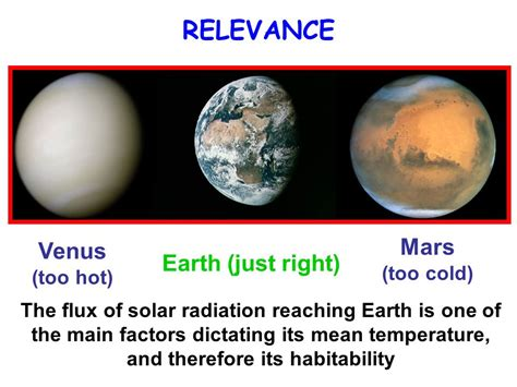 The Venus And Mars Of The Flu eosc radiation balance i goals for today ppt