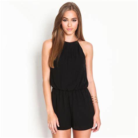 Sweater Defqon 1 Hitam Nugraha Clothing playsuits womens overall pakaian merek terkenal hitam kasual tanpa lengan halter lubang