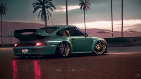 stanced porsche 911 jreel stanced porsche 911 993 need for speed