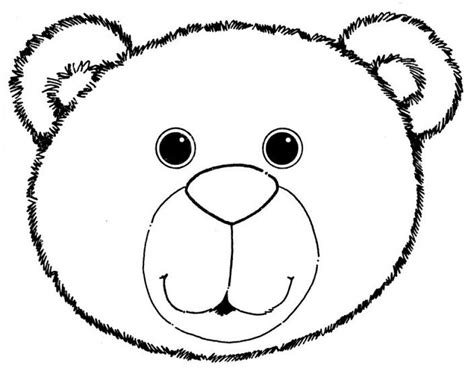 bear mask coloring page janice s daycare animal coloring sheets clipart best