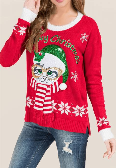 light up sweater quot meowy quot light up sweater light up