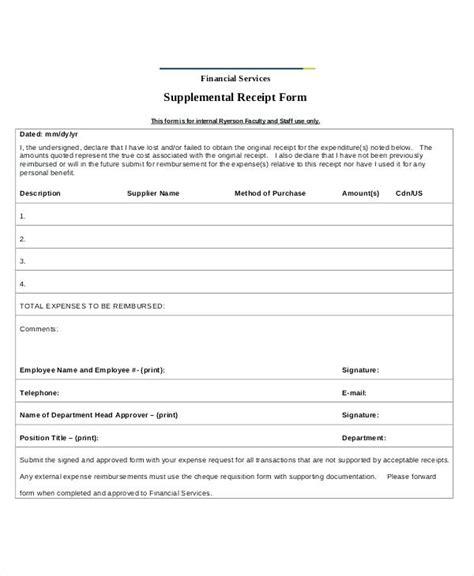 reimbursement receipt template receipts for reimbursement mindofamillennial me
