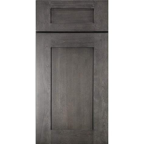 black kitchen cabinet doors graystone shaker cabinet door sle kitchen cabinets