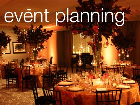 event organizing event planning