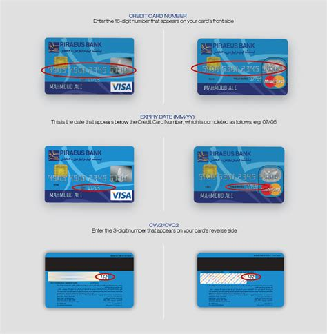 Sle Credit Card Cvv2 Number Piraeus Banking Credit Cards