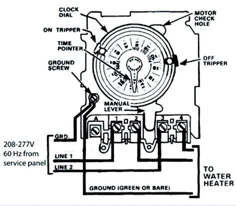 intermatic wh40 wiring diagram intermatic t104 wiring