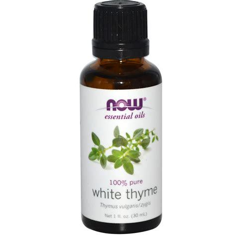 Essential Oils by Now Foods Essential Oils White Thyme 1 Fl Oz 30 Ml