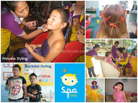 Poster Untuk Tempat Usaha Spa Pijat Dan Salon 64 60x90cm the spa baby spots liburan anak