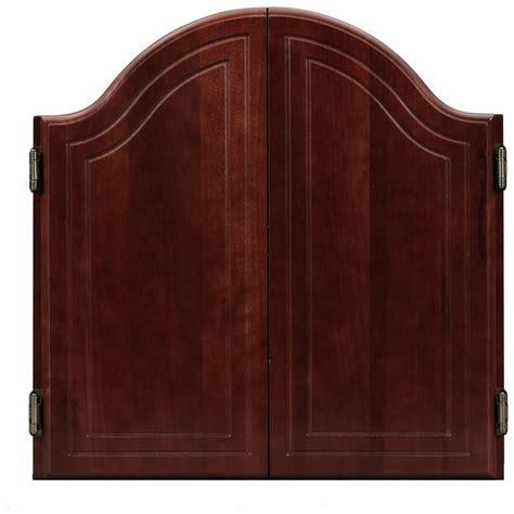 viper arched dartboard cabinet black 135863 at