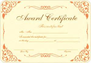 Free Printable Blank Award Certificate Templates by New Pdf Award Certificate Template