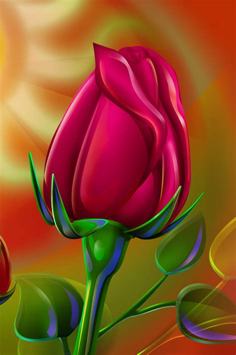 rose themes cell phone red rose iphone 4 wallpapers 640x960 mobile phone hd