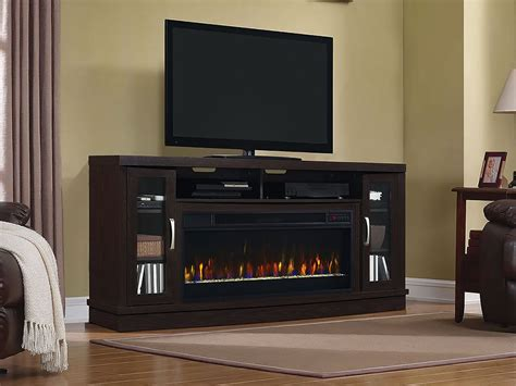 oak electric fireplace tv stand awesome hutchinson