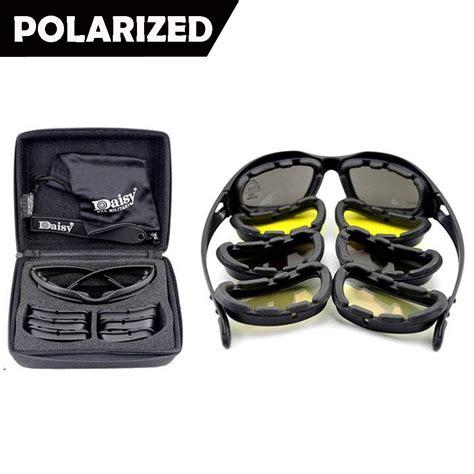 Goggle Set Falam Army new c5 polarized army goggles sunglasses 4