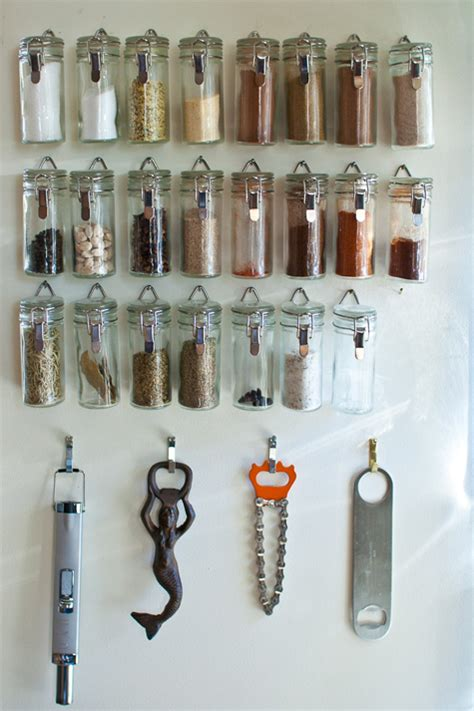 Hanging Spice Jars 16 Clever Ways To Store Organize Your Spices